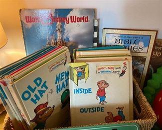 Vintage Dr Seuss childrens' books