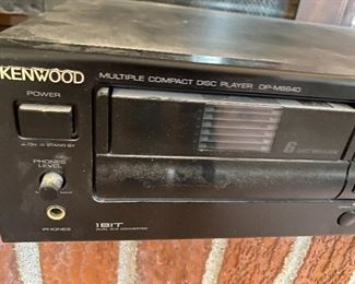 Kenwood Multiple Compact Disc Player  DP-M6640