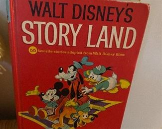 Walt Disney's Story Land A Golden Book 55 Favorite Stories Vintage 1962