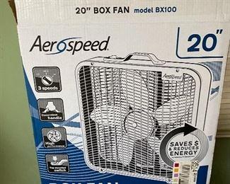 """Aerospeed 20"""" box fan"""