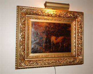 Vintage Cow Art