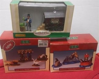 https://www.ebay.com/itm/124466104037	GN3092 LOT OF THREE USED LEMAX BOXED FIGURINES VILLAGE COLLECTION POLY-RESIN		 Buy-IT-Now 	 $19.99