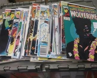 https://www.ebay.com/itm/114191564448	AB0230 LOT OF 50 COMIC BOOKS MARVEL COMICS PRESENTS WOLVERINE BOX 77 AB0		 Buy-it-Now 	 $75.00