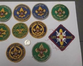https://www.ebay.com/itm/124166170198	AB0282 LOT OF 10 VINTAGE BOY SCOUTS OF AMERICA PATCHS $30.00 MORE BOX 70 AB028		 Buy-it-Now 	 $20.00