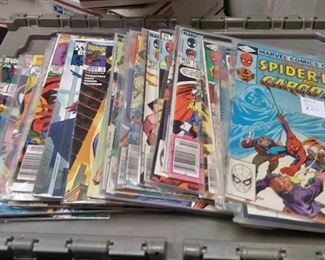 https://www.ebay.com/itm/114200316054	AB0292 MARVEL COMICS BOOK LOT OF 32 SPIDER-MAN TITLE BOOKS $70.00 MORE BOX 77 AB		 Buy-it-Now 	 $65.00