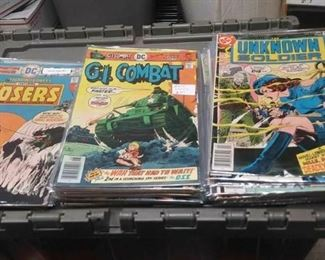 https://www.ebay.com/itm/124166179080	AB0297 VINTAGE BRONZE AGE DC COMIC BOOK LOT OF 53 BOOKS 24 - THE UNKNOWN SOLDIER		 Buy-it-Now 	 $115.00