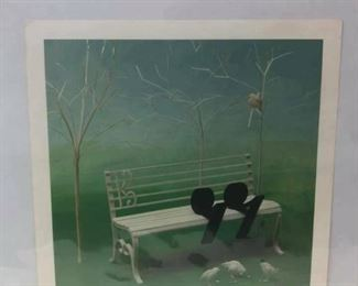 https://www.ebay.com/itm/114237510534	Cma2069: Resting Lithograph from Original by Siegbert Reinhard		Buy-it-Now	 $49.99