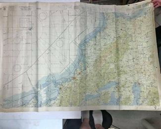 https://www.ebay.com/itm/124207358396	Cma2077: Vintage Nautical Map Us Eastern Seaborne Air Chart		Buy-it-Now	 $19.99