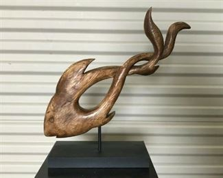 https://www.ebay.com/itm/114544845014	KG107 WOODEN CARVED ABSTRACT FISH DECORATION ART		 Buy-IT-Now 	 $20.00