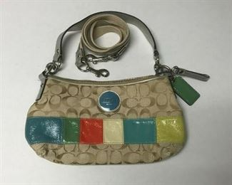 https://www.ebay.com/itm/124461069343	HY007 COACH PURSE MULTI COLOR SMALL		 Auction