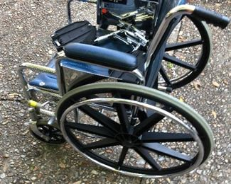 https://www.ebay.com/itm/124408568028	KG4013: Large Mag Wheel Adult Wheelchair Pickup Only		 OBO 	 $50.00