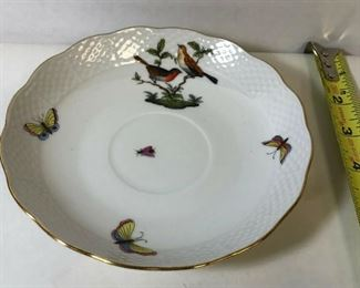 https://www.ebay.com/itm/114213982378	LAN9804: Herend Hungary 701 Hand Painted China Saucer Bowl		 OBO 	 $19.99