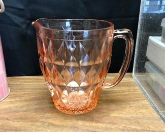 https://www.ebay.com/itm/124340168404	LRM3988: Pink Depression Glass Water Pitchers Pickup Only		 OBO 	 $20.00