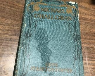 https://www.ebay.com/itm/124330031232	LX2061 Michael O'Halloran by Gene Stratton-Porter Book 1916 ASIS		 OBO 	 $19.99