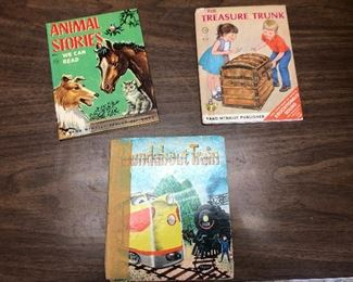 https://www.ebay.com/itm/124330031212	LX2078: 3 Randy McNally Elf Books ASIS, Roundabout Train, Animal Stories We Can 		 OBO 	 $20.00