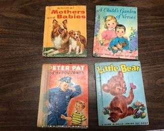 https://www.ebay.com/itm/114398471210	LX2084: 4 Randy McNally Elf Books ASIS, Animal Mothers and Babies, A Child Garde		 Buy-IT-Now 	 $19.99