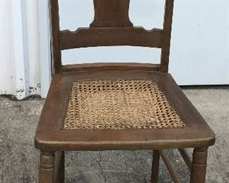 https://www.ebay.com/itm/114551951701	LAN9713: Antique Pressed Cane Seat Chair Local Pickup		 OBO 	 $20.00