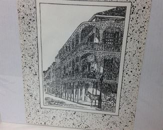 "https://www.ebay.com/itm/124437142235	LY0015 Lace Balcony New Orleans Print 12""X16"" 1980 George B Luttrell Print		 Buy-It-Now 	 $20.00"