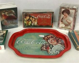https://www.ebay.com/itm/124351405645	WL145 COCA-COLA LOT OF CARDS AND TRAY		 Buy-it-Now 	 $20.00