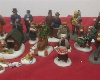 https://www.ebay.com/itm/124474293923	GN3126 LOT OF USED VINTAGE DEPARTMENT 56 CERAMIC FIGURINES		 Auction