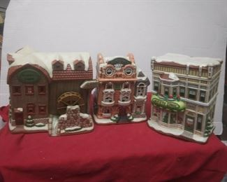 https://www.ebay.com/itm/114575415360	GN3133 LOT OF THREE LEFTON USED VINTAGE CERAMIC COLONIAL VILLAGE BUILDINGS		 Buy-it-Now 	 $54.99