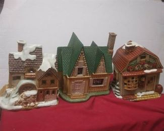 https://www.ebay.com/itm/114575415355	GN3134 LOT OF THREE LEFTON USED VINTAGE CERAMIC COLONIAL VILLAGE BUILDINGS		 Buy-it-Now 	 $54.99