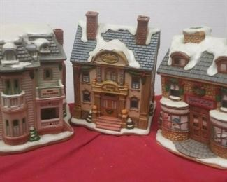 https://www.ebay.com/itm/124486381230	GN3139 LOT OF THREE LEFTON USED VINTAGE CERAMIC COLONIAL VILLAGE BUILDINGS		 Buy-it-Now 	 $54.99
