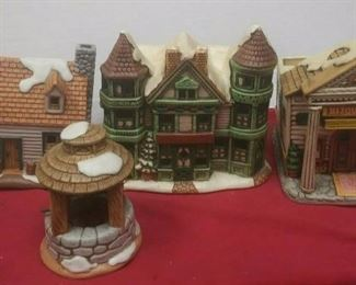 https://www.ebay.com/itm/114575415366	GN3149 LOT OF FOUR LEFTON USED VINTAGE CERAMIC COLONIAL VILLAGE BUILDINGS		 Buy-it-Now 	 $54.99
