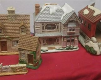 https://www.ebay.com/itm/114575415361	GN3155 LOT OF THREE LEFTON USED VINTAGE CERAMIC COLONIAL VILLAGE BUILDINGS		 Buy-it-Now 	 $54.99