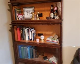 Globe-Macey Barrister 4 stack Bookcase