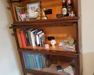 Globe-Macey Barrister 4 stack Bookcase (2 sets)