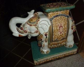 Decorative elephant collectible