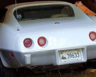 Vintage 1975 Chevrolet Corvette