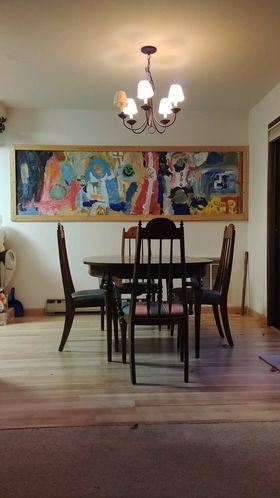 Dining set / artwork