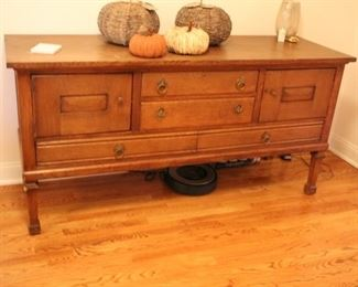 Vintage oak sideboard / buffet