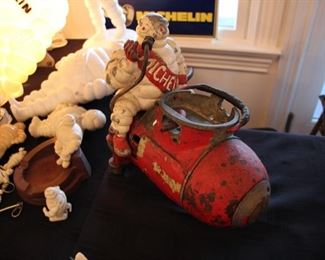 Vintage Michelin Man lot