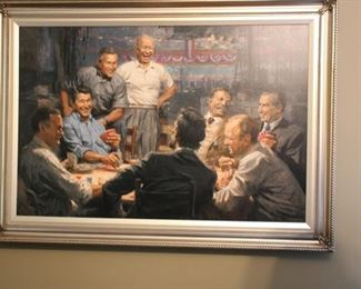 """Grand ol' Gang"" lim'd ed giclee by Andy Thomas"
