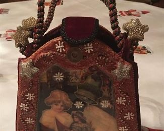 Mary Frances Christmas purse