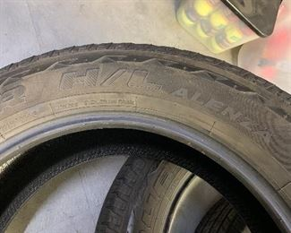 Four Toyota Tundra tires & one tire for a Rav 4