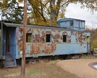 blue caboose $1,500 starting bid buy it now $4,500