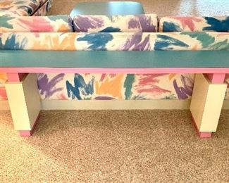 Alternate view of the console table.
