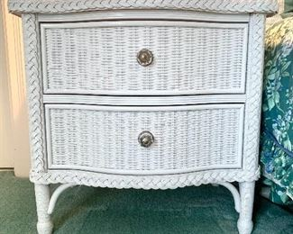 Close up of the nightstands.