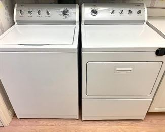 $450 for PAIR. Kenmore Washer/Dryer, 800 Series. Good condition!