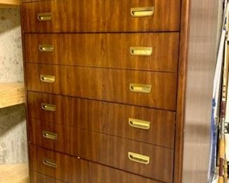 Filing cabinet by National Mt. Airy. Solid wood and in excellent condition. $300. Matching credenza is also available.
