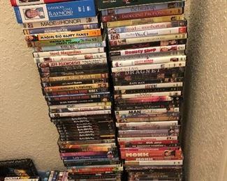SO MANY DVD's
