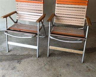 COOL VINTAGE LAWN CHAIRS