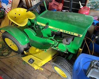 Vintage John Deere 110 Riding Mower
