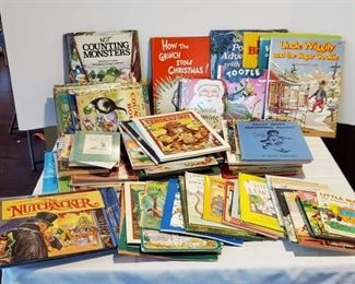 Children's Books: Some Vintage, Pop-Ups, Little Golden, Dr. Seuss and More