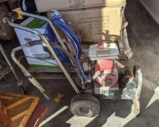 Hydraulic Energy Regulated Output Airless Paint Sprayer