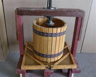 Wooden Fruit /Wine Press